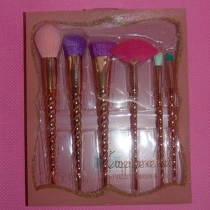 Copperella 6 piece Brush Set by Beauty Creations